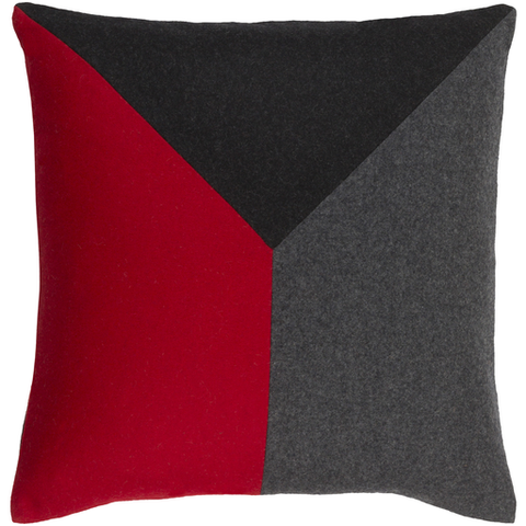 Shoal Toss Pillow BRIGHT RED
