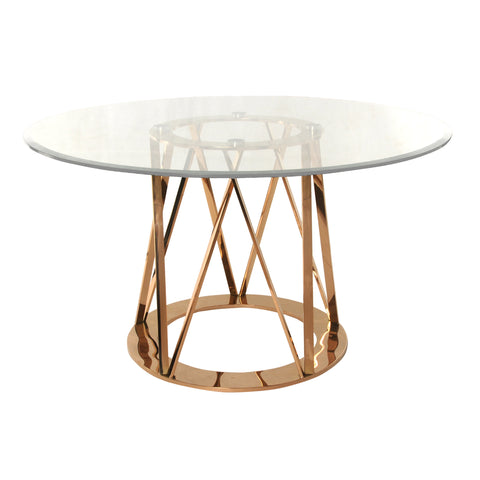 Strata Dining Table ROSE GOLD - Apt2B