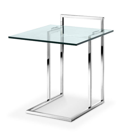 Sunland Side Table POLISHED STAINLESS STEEL - Apt2B