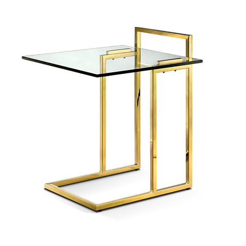 Sunland Side Table POLISHED GOLD - Apt2B