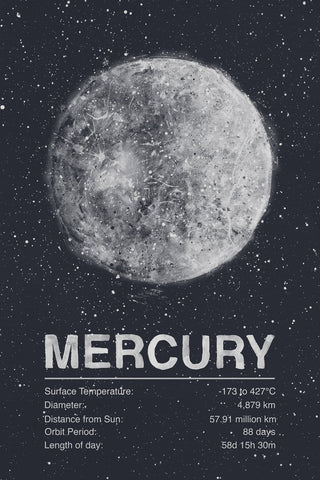 Tracie Andrews THE PLANET SERIES: MERCURY