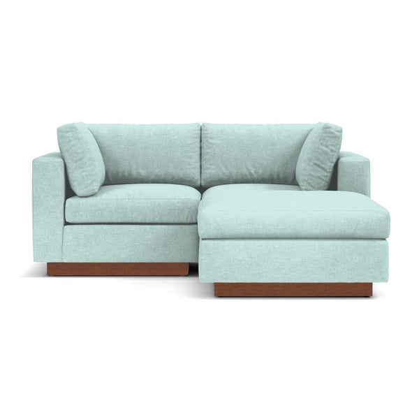 Taylor Plush 3pc Modular Reversible Chaise Sofa