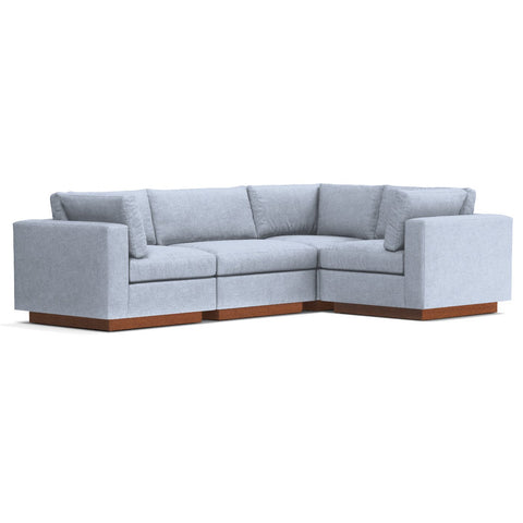 Taylor Plush 4pc Modular L Sectional Sofa