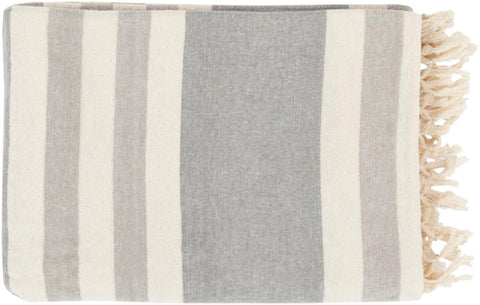 Toland Throw GREY/CREAM/STONE