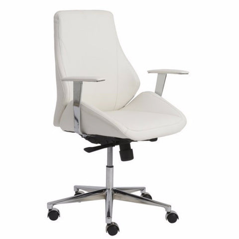 Torino Low Back Office Chair WHITE - Apt2B - 1