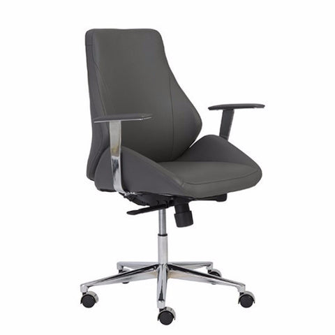 Torino Low Back Office Chair GREY - Apt2B - 1
