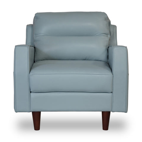 Valley Spring Leather Chair SKY BLUE