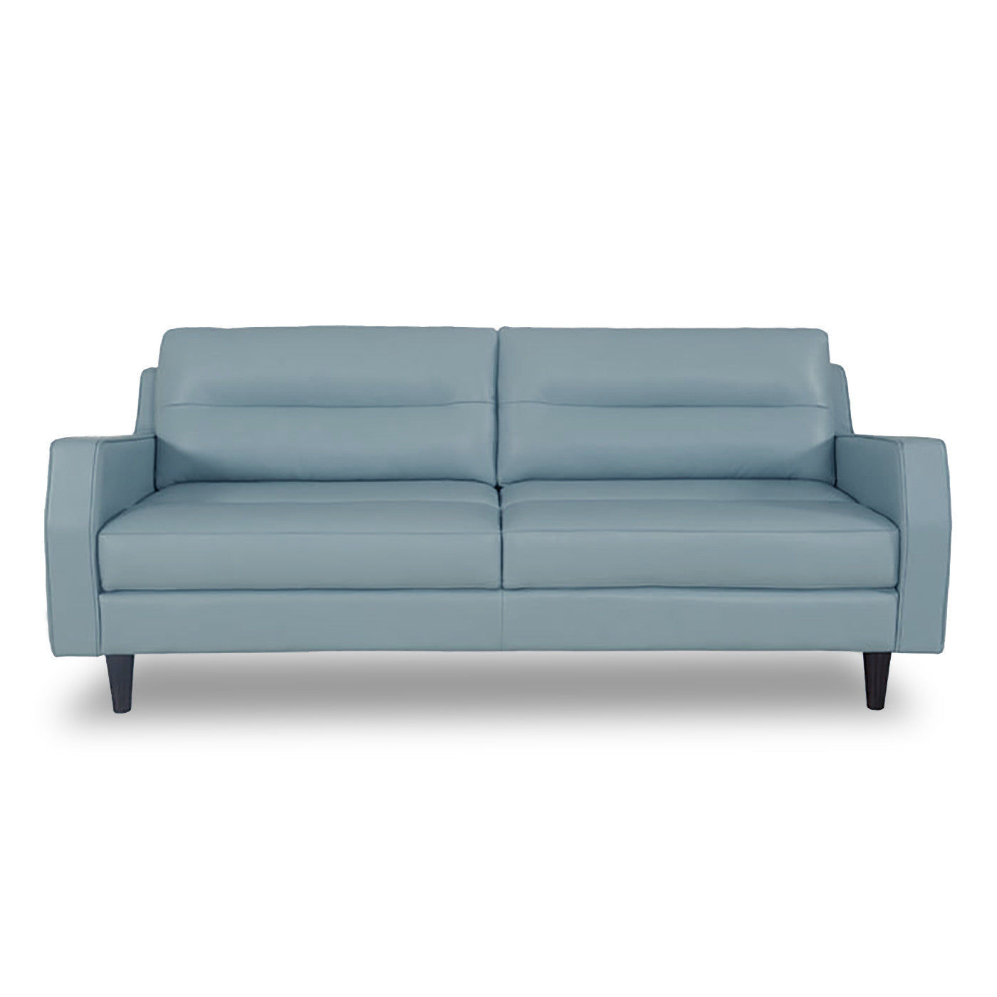 Valley Spring Leather Sofa SKY BLUE