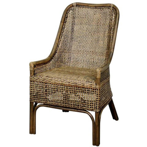 Bali Rattan Side Chair NATURAL