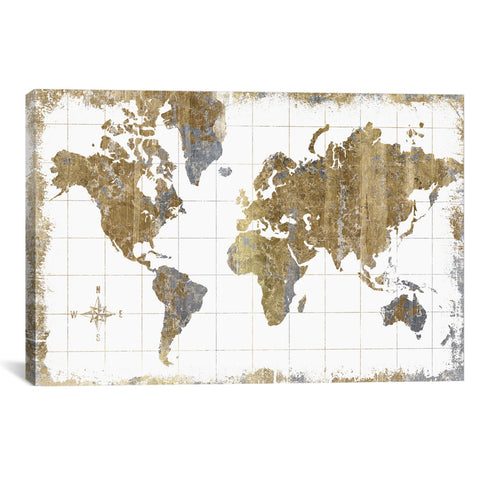 All That Glitters GILDED MAP - Apt2B - 1