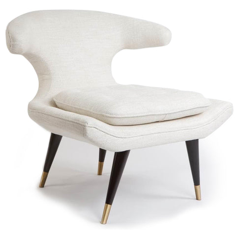 Westwood Lounge Chair WHITE - Apt2B - 1