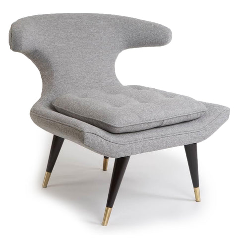 Westwood Lounge Chair GREY - Apt2B - 1
