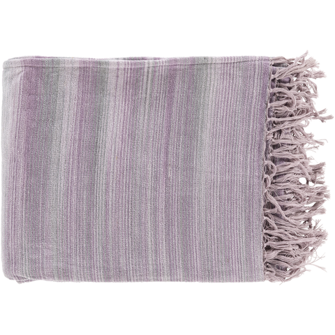 Willows Woven Throw LILAC