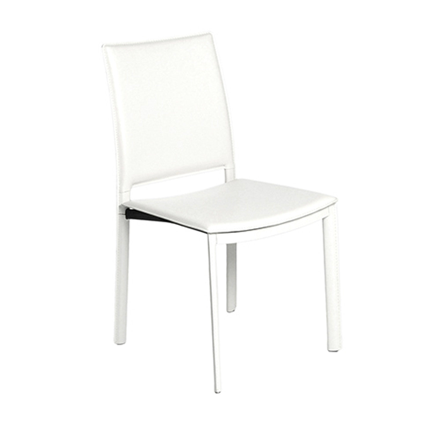 Andasol Side Chair Set of 4 WHITE