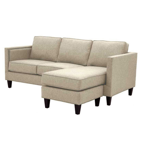 Anderson Reversible Chaise Sofa in BISQUE - CLEARANCE
