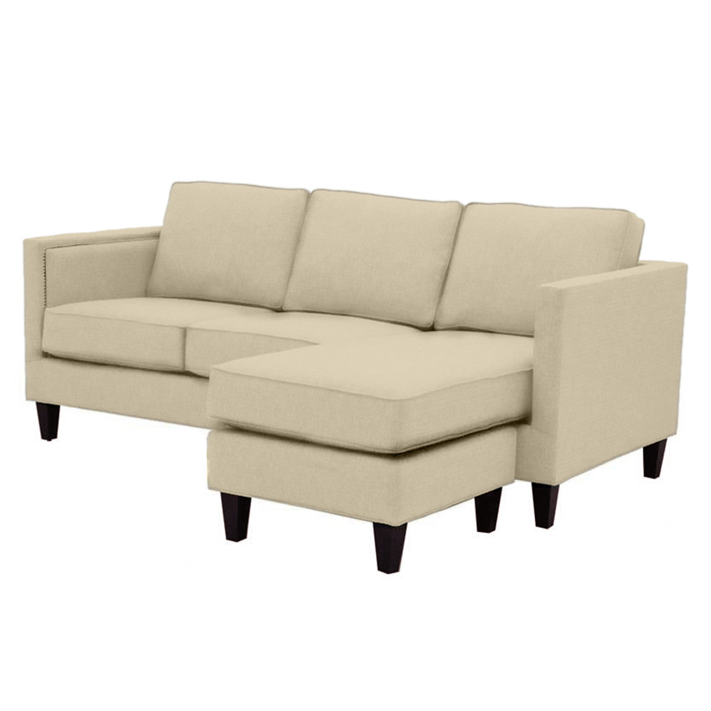 Contemporary Reversible Chaise Sofas Apt2B