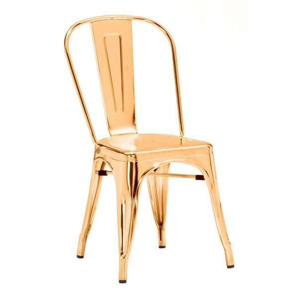 Anita Metal Chair GOLD
