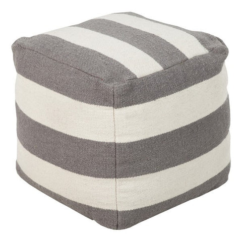 Harbor Blvd. Pouf IVORY/GRAY - Apt2B