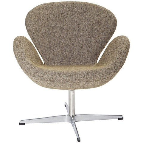 Lucile Lounge Chair OATMEAL - Apt2B - 1