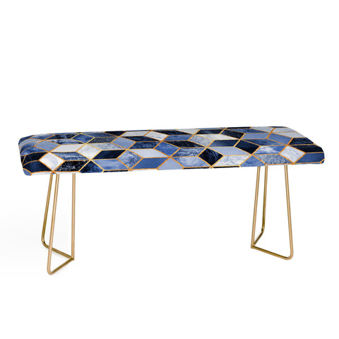 BLUE CUBES Bench by Elisabeth Fredriksson