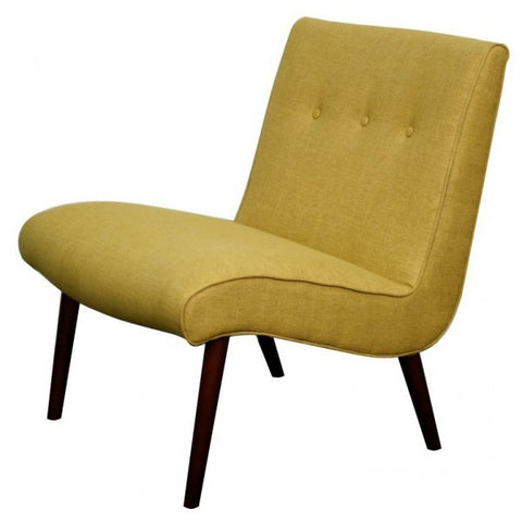 Borden Fabric Chair MUSTARD - Apt2B