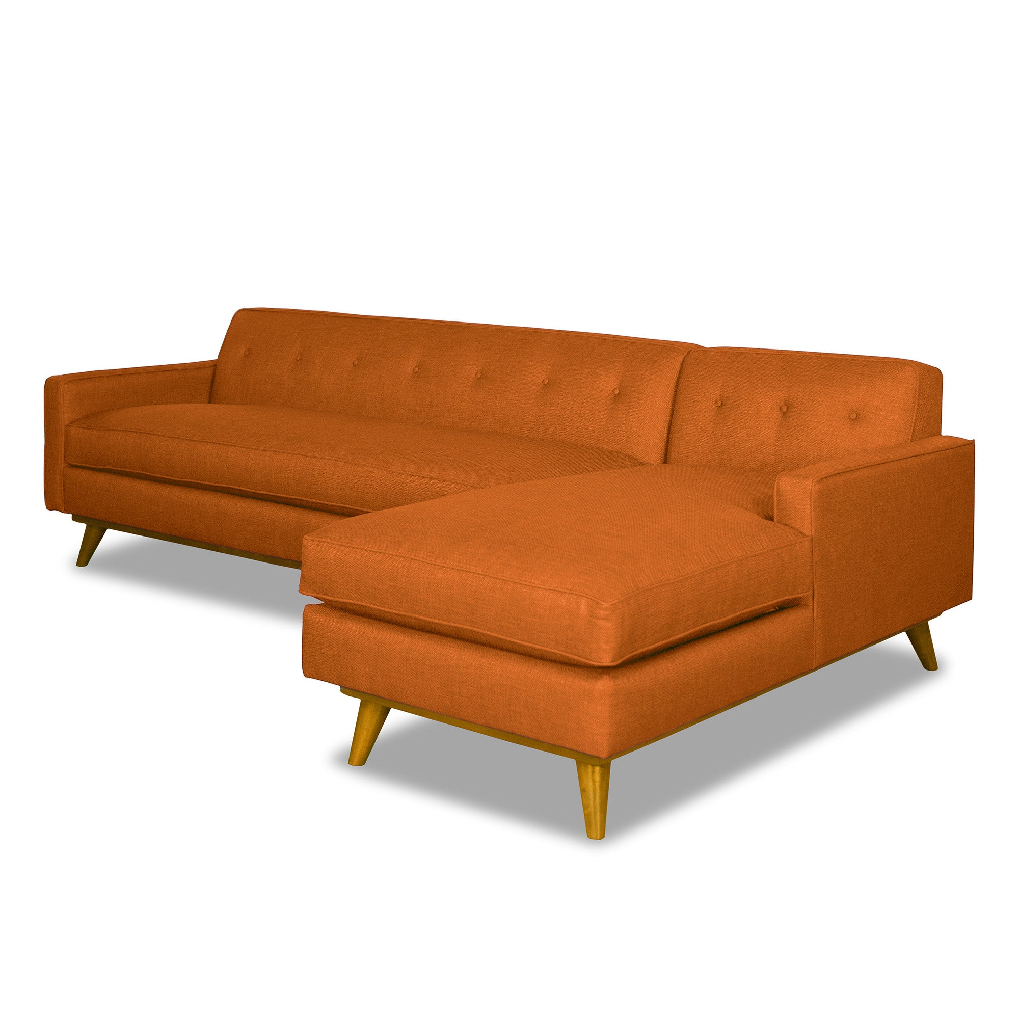 sectional sofa sofas tweed sohoconcept products contemporary taxim orange