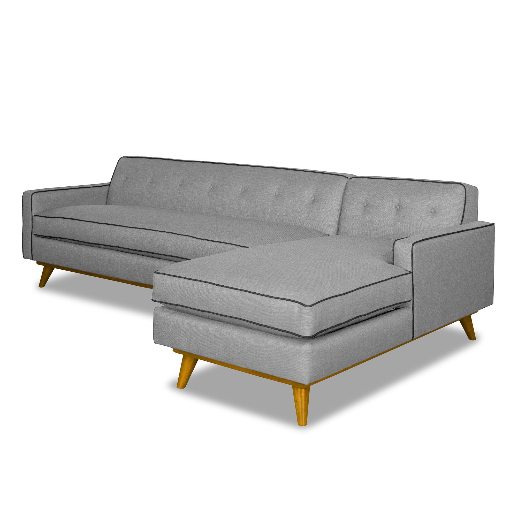Clinton 2pc Sectional CHOOSE YOUR COLOR COMBO