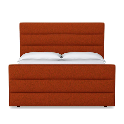 Colette Upholstered Bed From Kyle Schuneman Twin/Full CHOICE OF FABRICS - Apt2B - 1