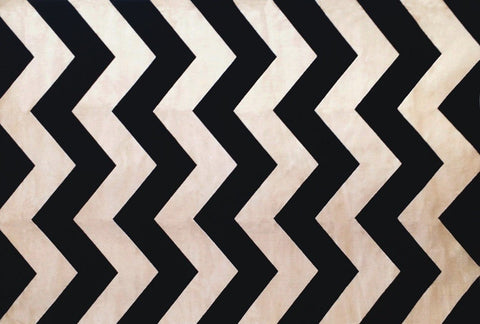 Coolidge Area Rug CHARCOAL CHEVRON - Apt2B