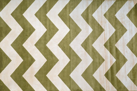 Coolidge Area Rug FERN CHEVRON - Apt2B