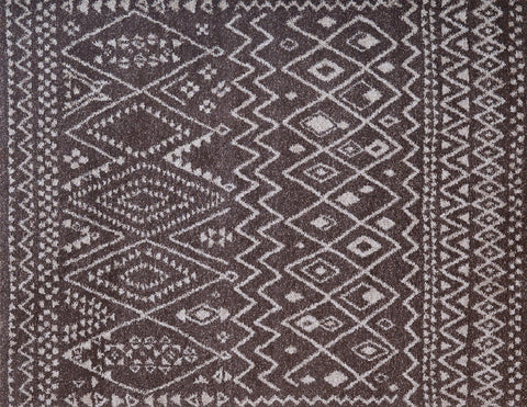 Crescent Area Rug CHOCOLATE/IVORY - Apt2B - 1