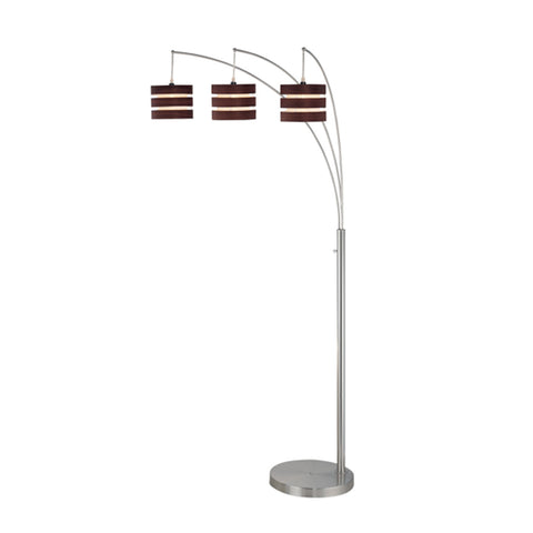 Cresta 3 Light Arch Floor Lamp - Apt2B - 1