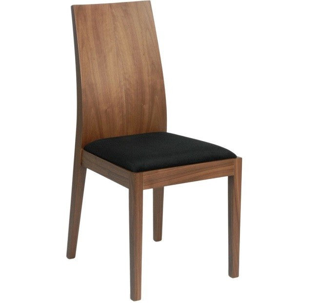 Atwater Side Chair Set of 2 WALNUT
