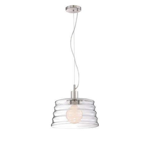 Duet Pendant Lamp POLISHED STEEL - Apt2B