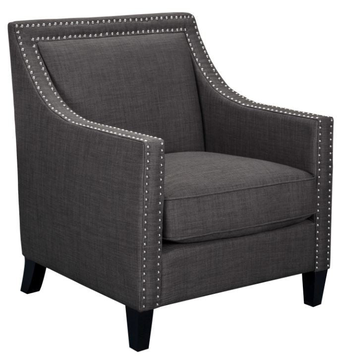 Elsinore Accent Chair Charcoal