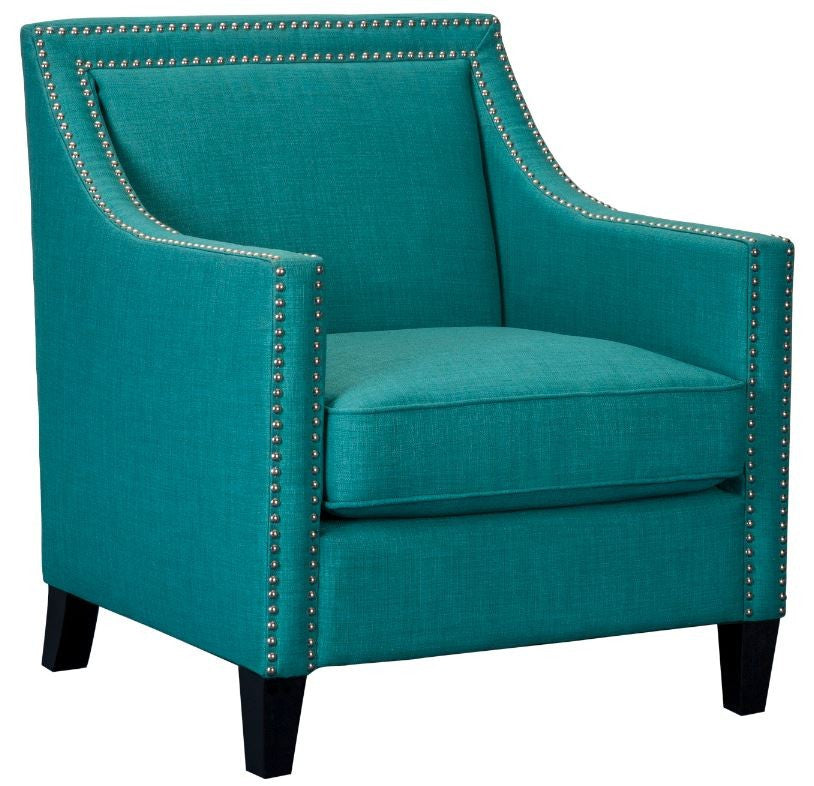 Simple Teal Accent Chairs Decoration Ideas