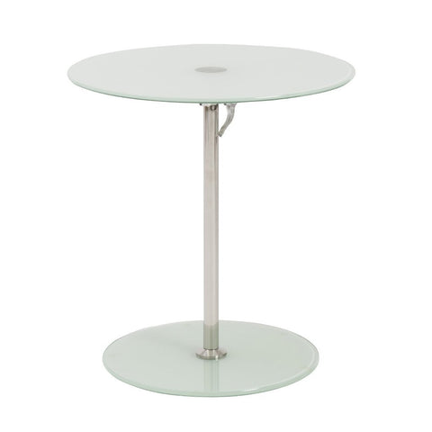 Everett Adjustable Table FROSTED