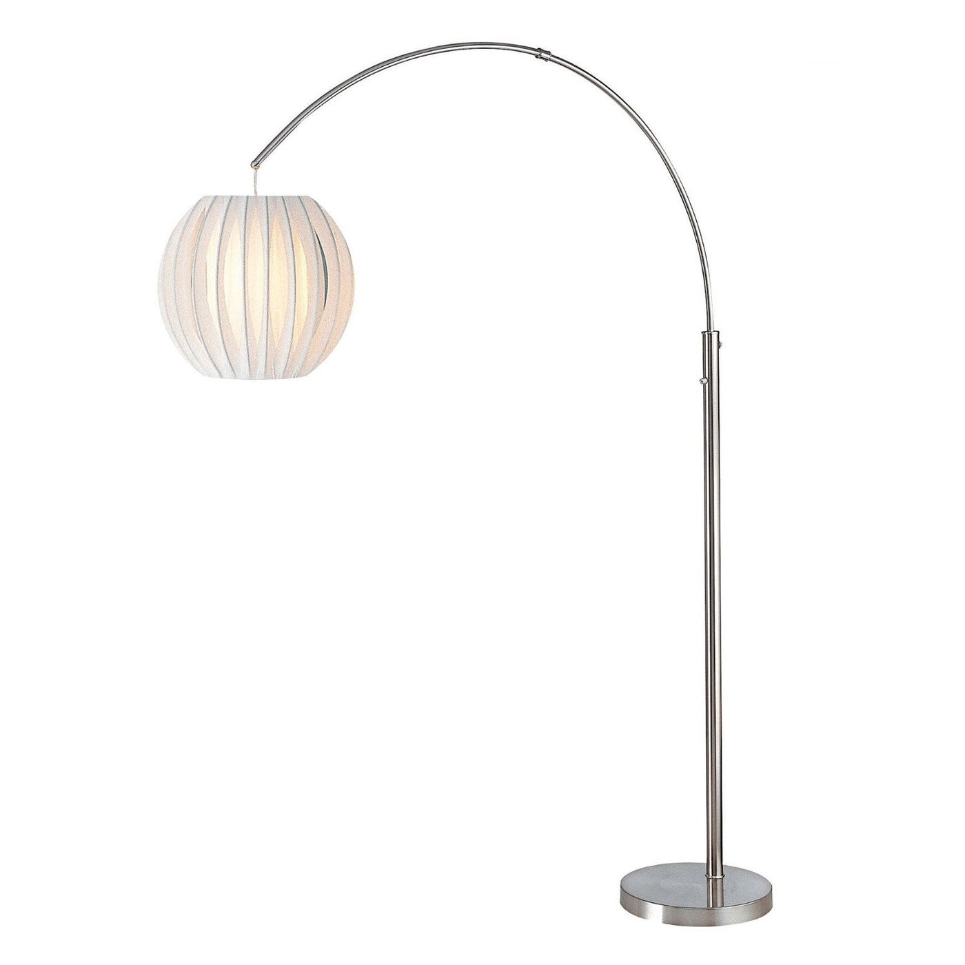 Exeter Arch Lamp POLISHED STEEL