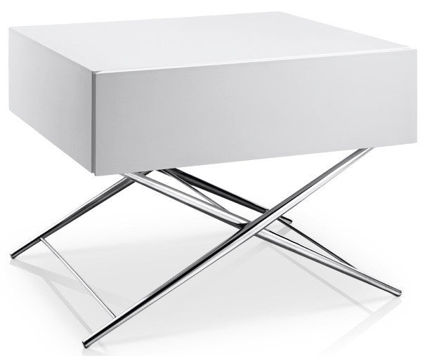 Ferndale End Table WHITE