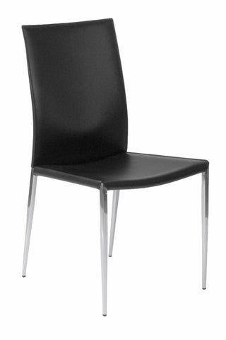 Francis Side Chair Set of 2 BLACK - Apt2B - 1