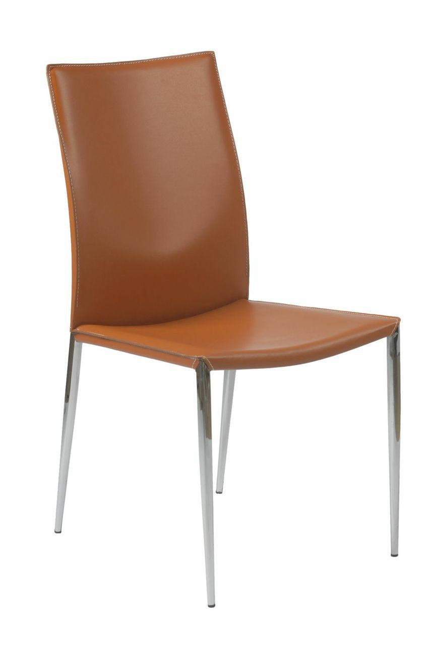 Francis Side Chair Set of 2 CARAMEL