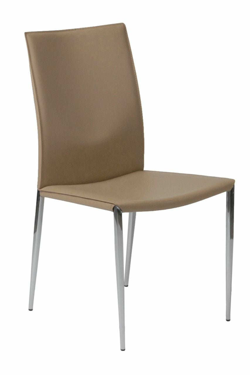 Francis Side Chair Set of 2 TAN