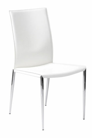 Francis Side Chair Set of 2 WHITE - Apt2B - 1