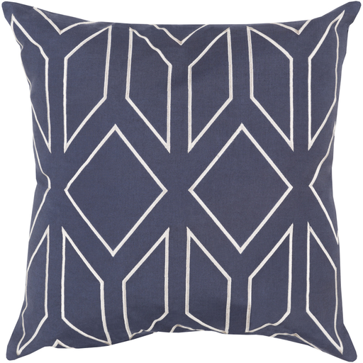 Gilmore Toss Pillow MIDNIGHT BLUE
