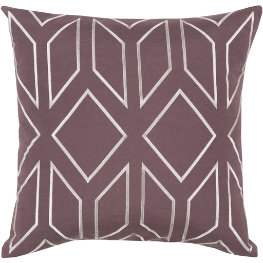 Gilmore Toss Pillow EGGPLANT