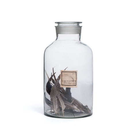 Feather Apothecary Jar - Apt2B