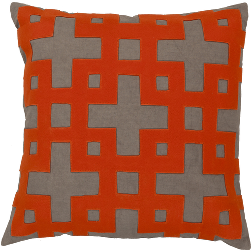 Glenhurst Toss Pillow POPPY RED