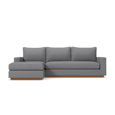Harper 2pc Sectional Sofa LAF in MOUNTAIN GREY - CLEARANCE