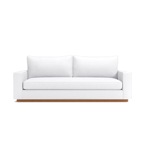 Harper Queen Size Sleeper Sofa in WHITE - CLEARANCE