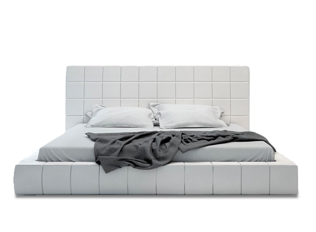 Design Tufted Bed hart tufted white platform bed apt2bcom apt2b 1